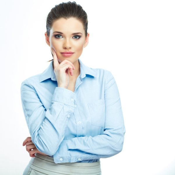 diploma of leadership and management: woman in a formal shirt
